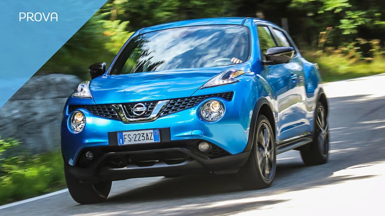 Nissan Juke 2018, la prova