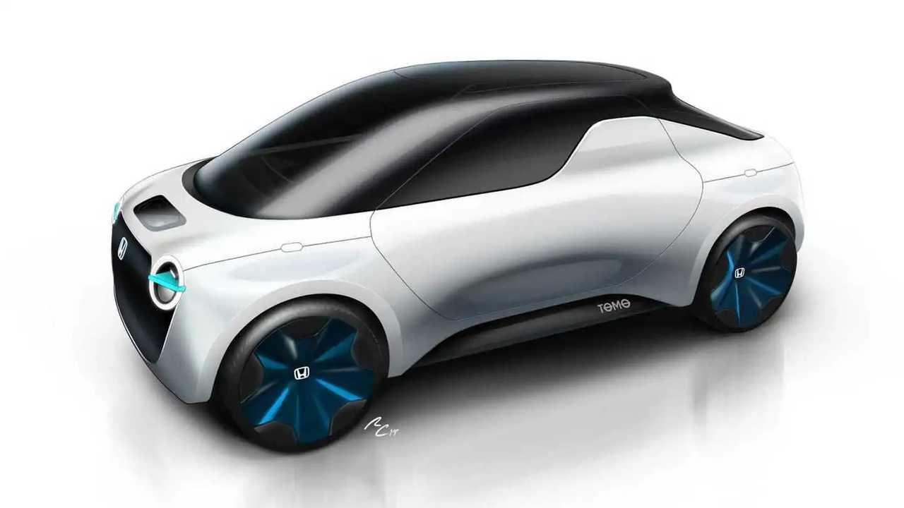 Honda Unveils Adorable Urban EV-Like Electric Concept