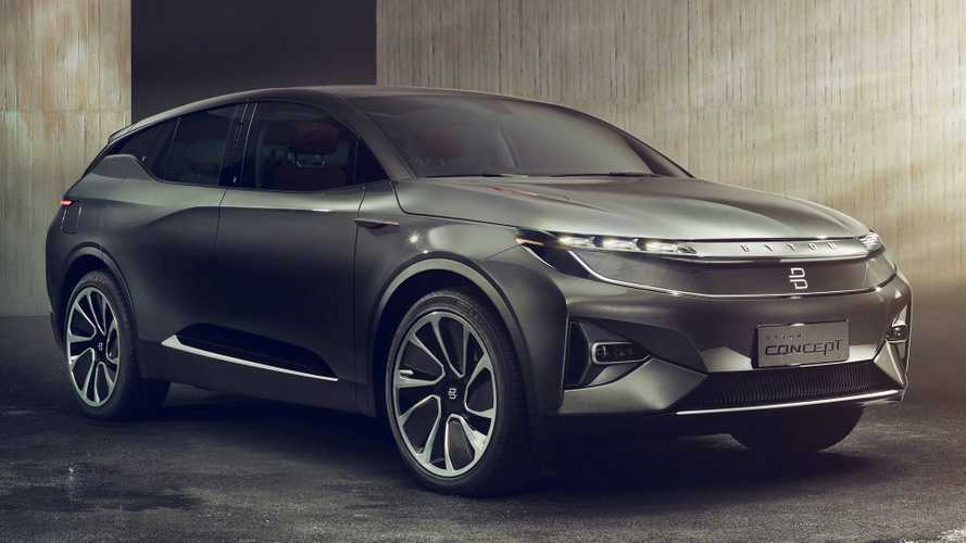 Byton M-Byte Electric SUV Headed For Mass Production This Year