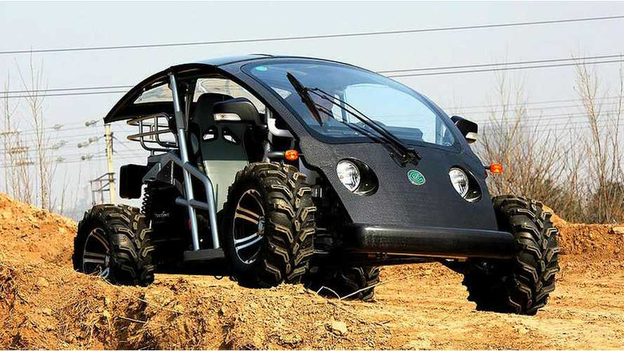 Ecocruise Cruser Sport Off-Road Electric Vehicle (w/video)