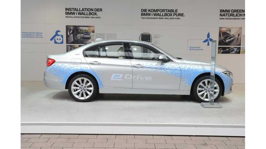 BMW 330e At The 2015 Frankfurt Motor Show - Gallery & Video