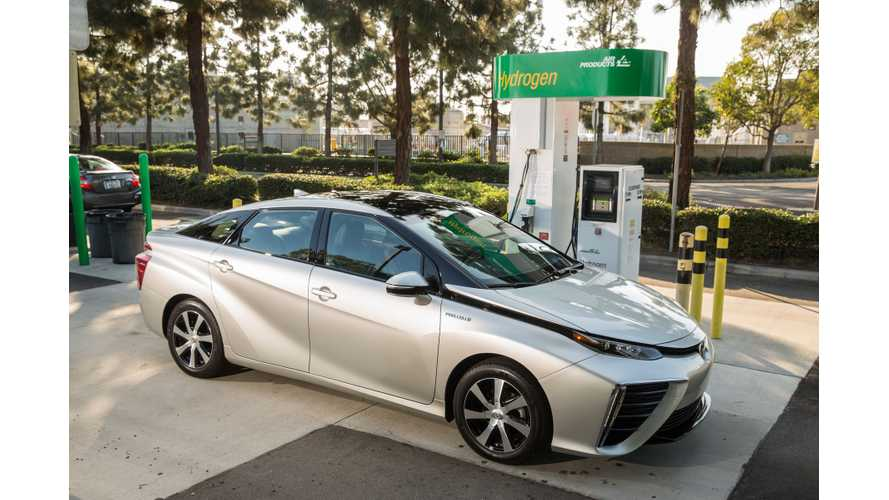 Hydrogen Fuel Cell Car Sales In U.S. Just 2,300 In 2018