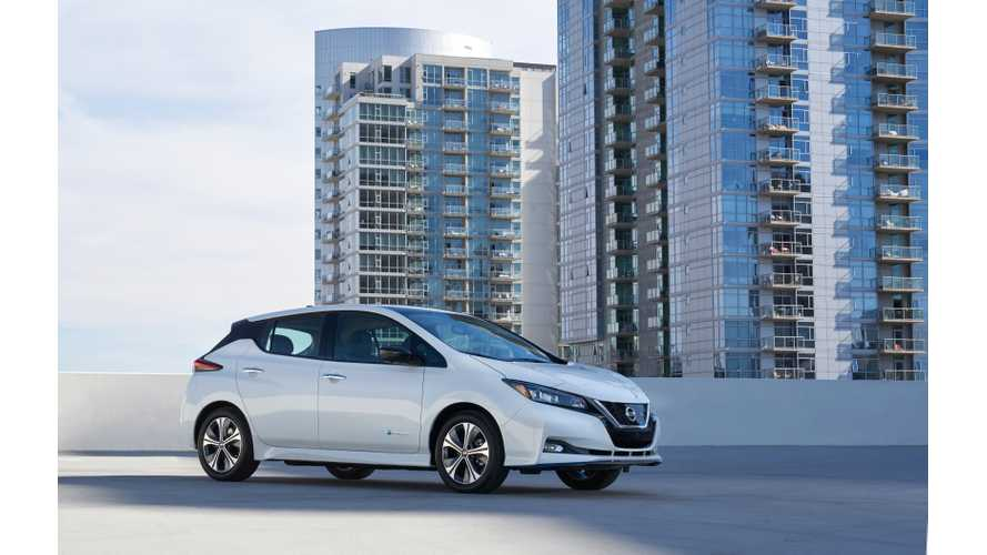 With New LEAF e-Plus, Nissan Joins Desirable 200-Mile Club