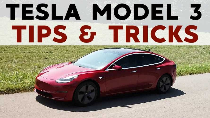 Tesla Model 3: Top Time-Saving Tips And Some Tricks: Video
