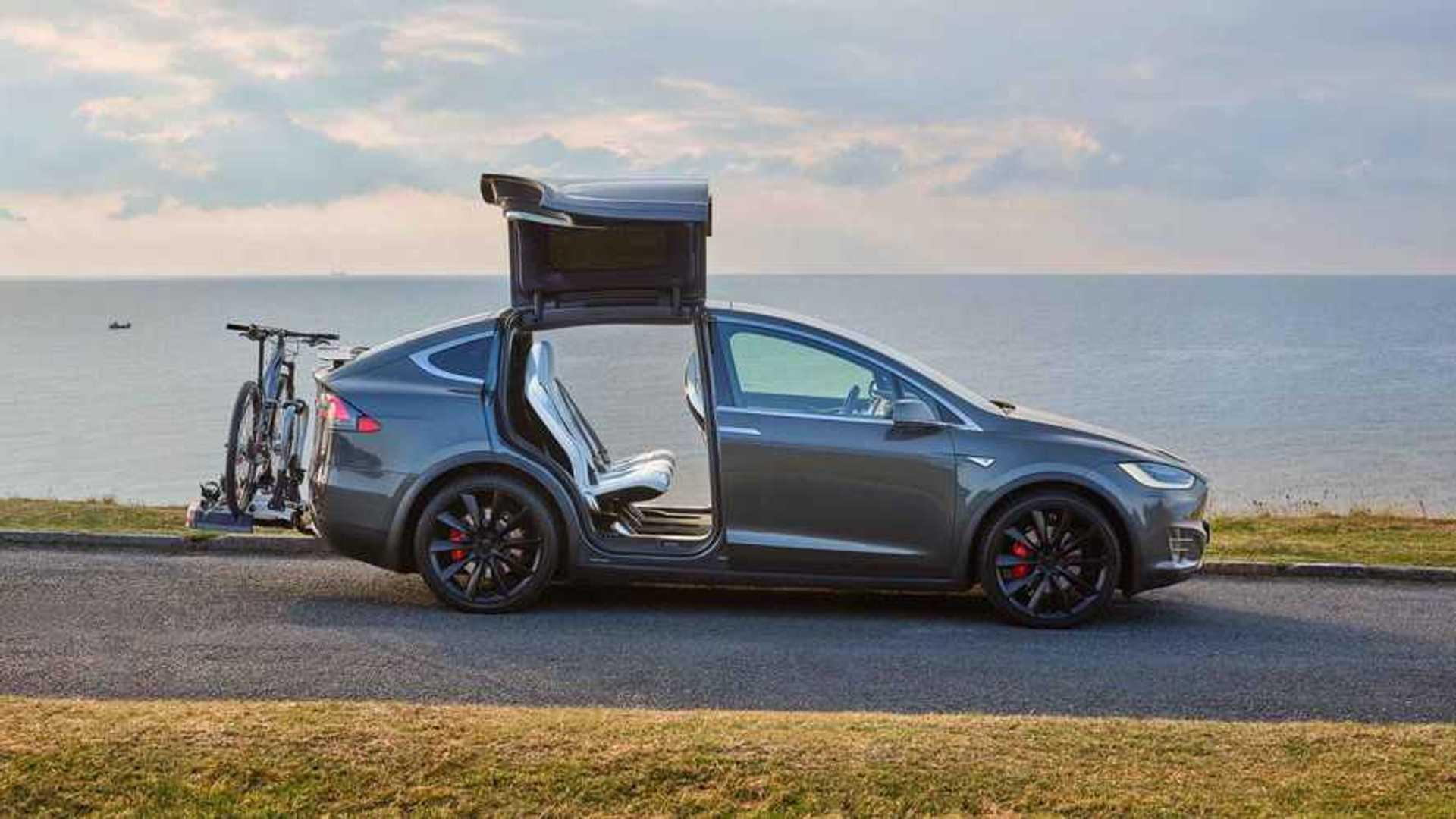 Dubai Gets A Tesla Model X Driver's Ed Car