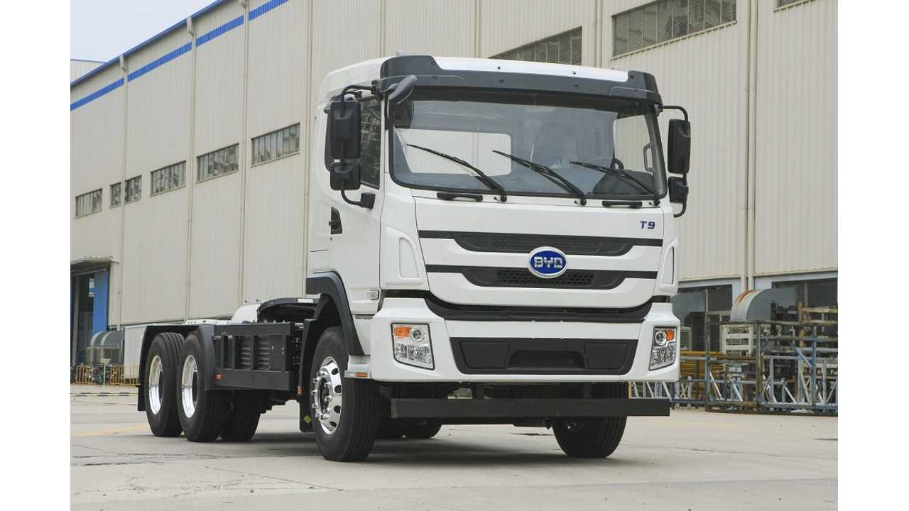 BYD To Deliver 200 Electric Trucks To Brazil