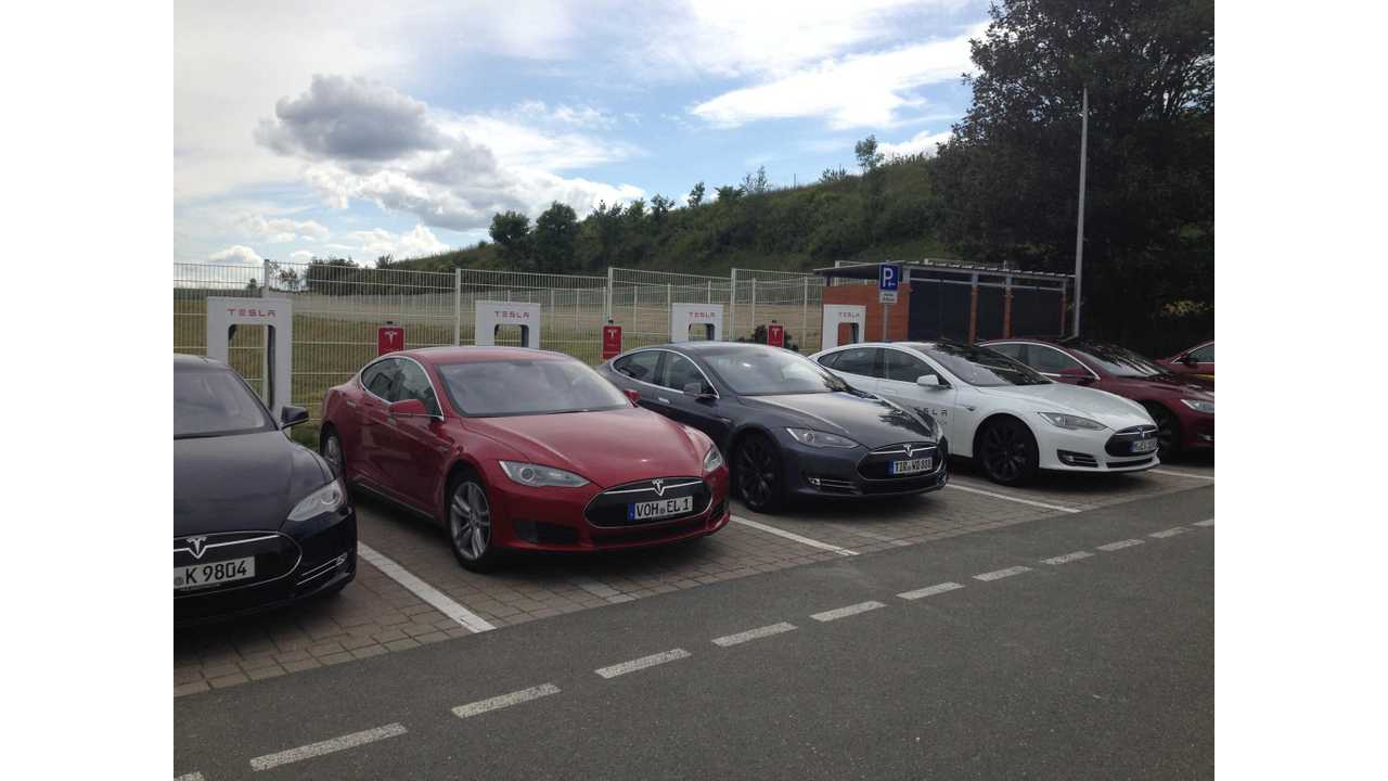 Tesla Supercharger Network In Germany Expands By 2