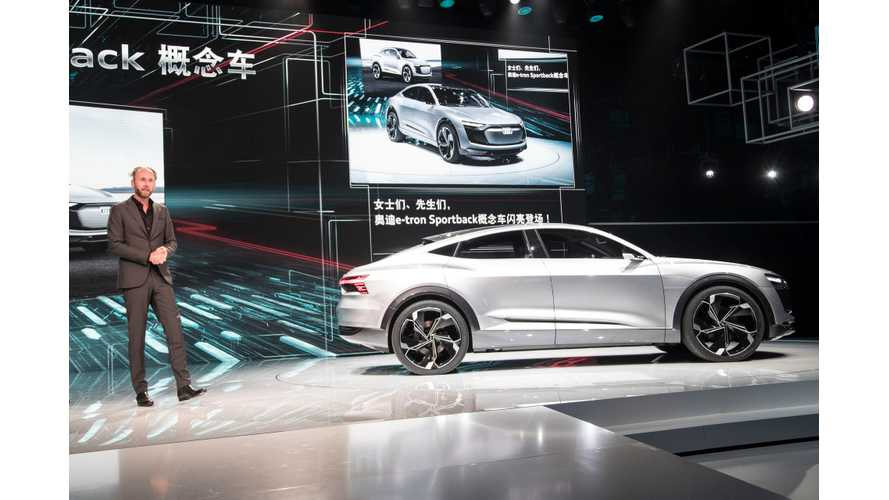 Audi Outlines Electric Future - 3 New EVs By 2020
