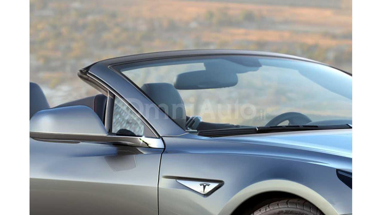 Omni Auto Tesla Roadster Render