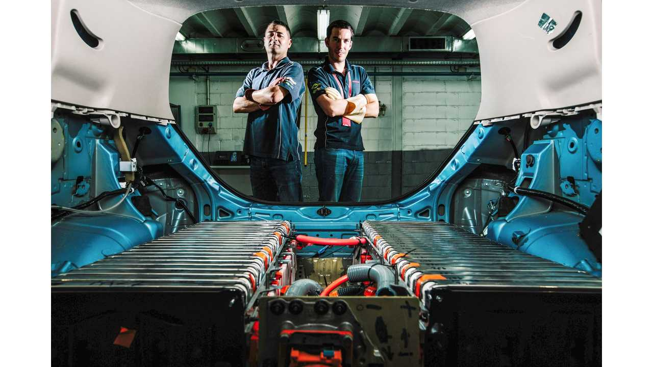 Labour of love: Nissan employees build 48 kWh LEAF prototype in their spare time