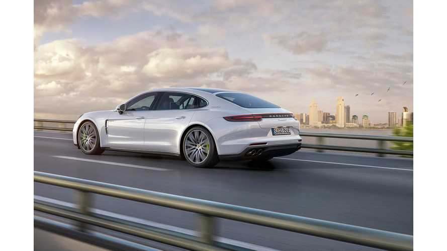 Porsche Adds PHEV Long-Wheelbase Panamera 4 E-Hybrid Executive To Lineup