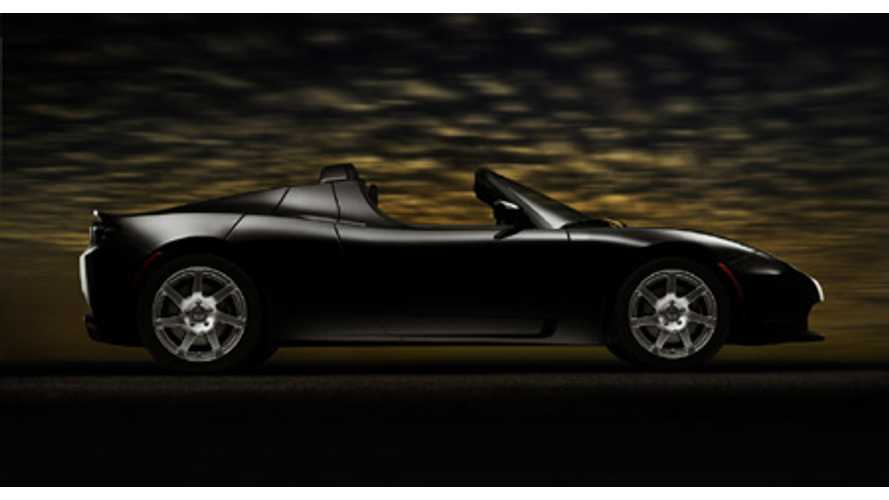 10 Years Since Tesla Roadster Preview - Video
