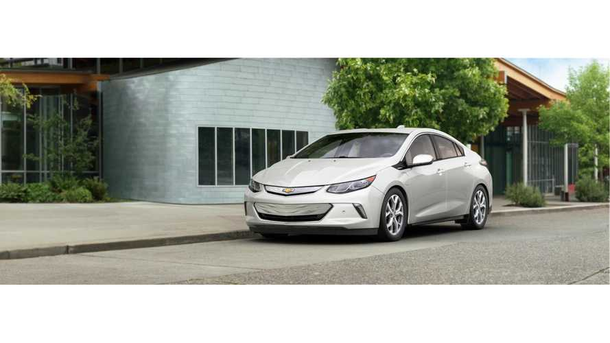2016 Chevrolet Volt Priced At $39,990 In Canada