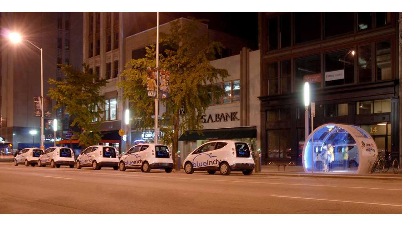 BlueIndy Finalizes Deal For Electric Car Sharing Program For Indianapolis
