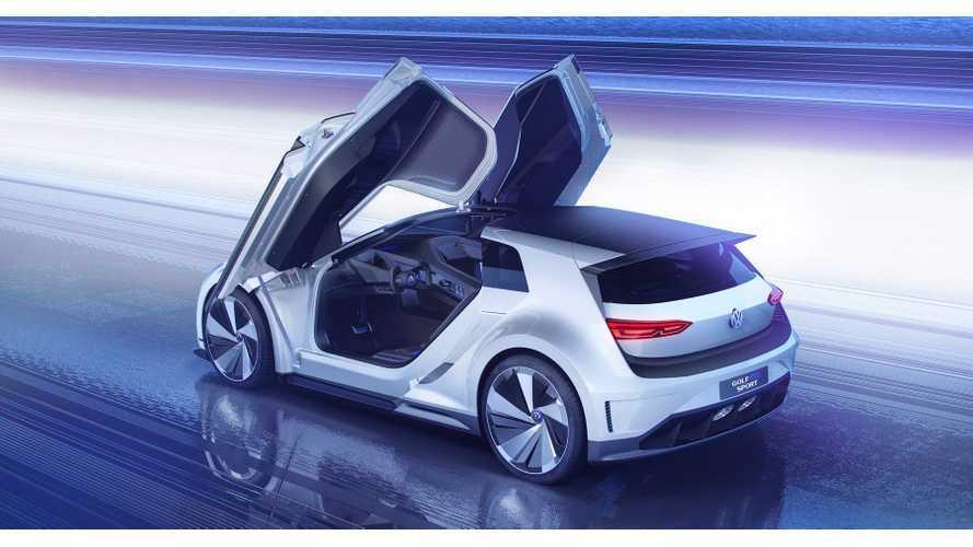 Volkswagen Debuts Golf GTE Sport Concept