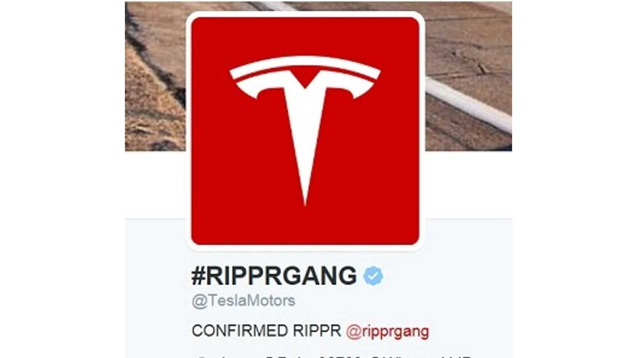 Tesla's Website, Twitter And Elon Musk Got h4x0r3d! Free Cars For Everyone!