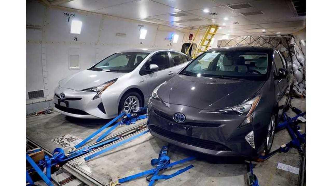 Images Of Next-Generation 2016 Toyota Prius