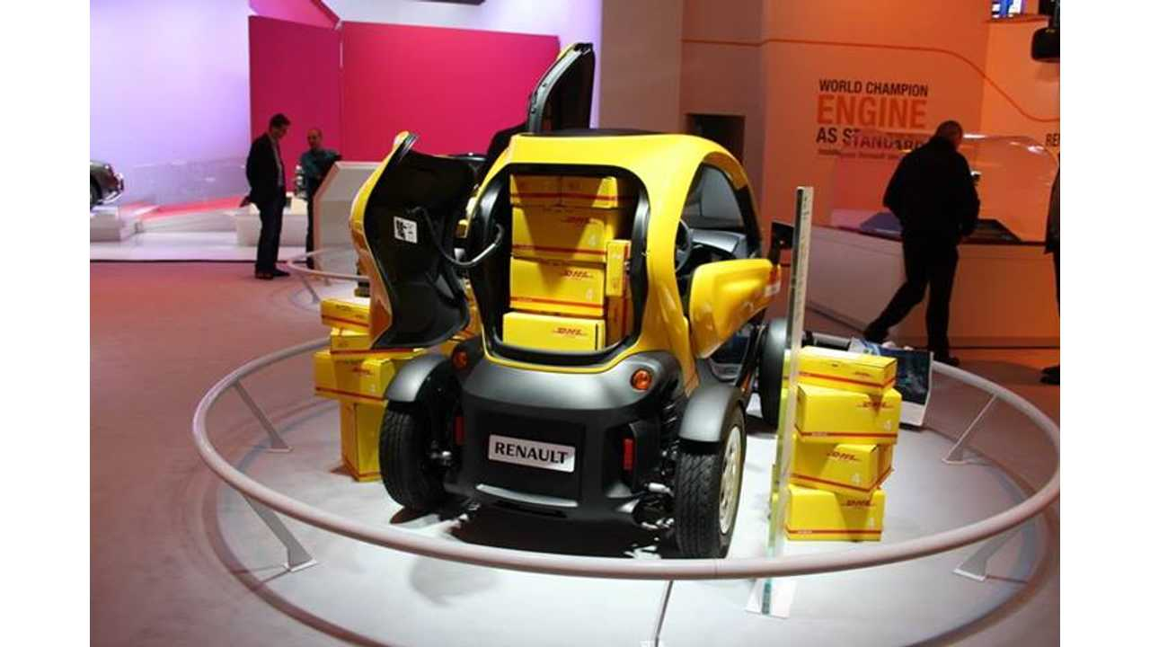How Much Stuff Can You Pack In A Twizy Cargo? - Video