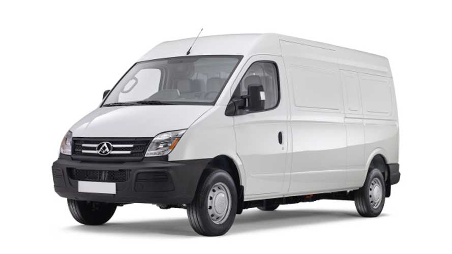 Maxus EV80 Electric Van Launches In Europe
