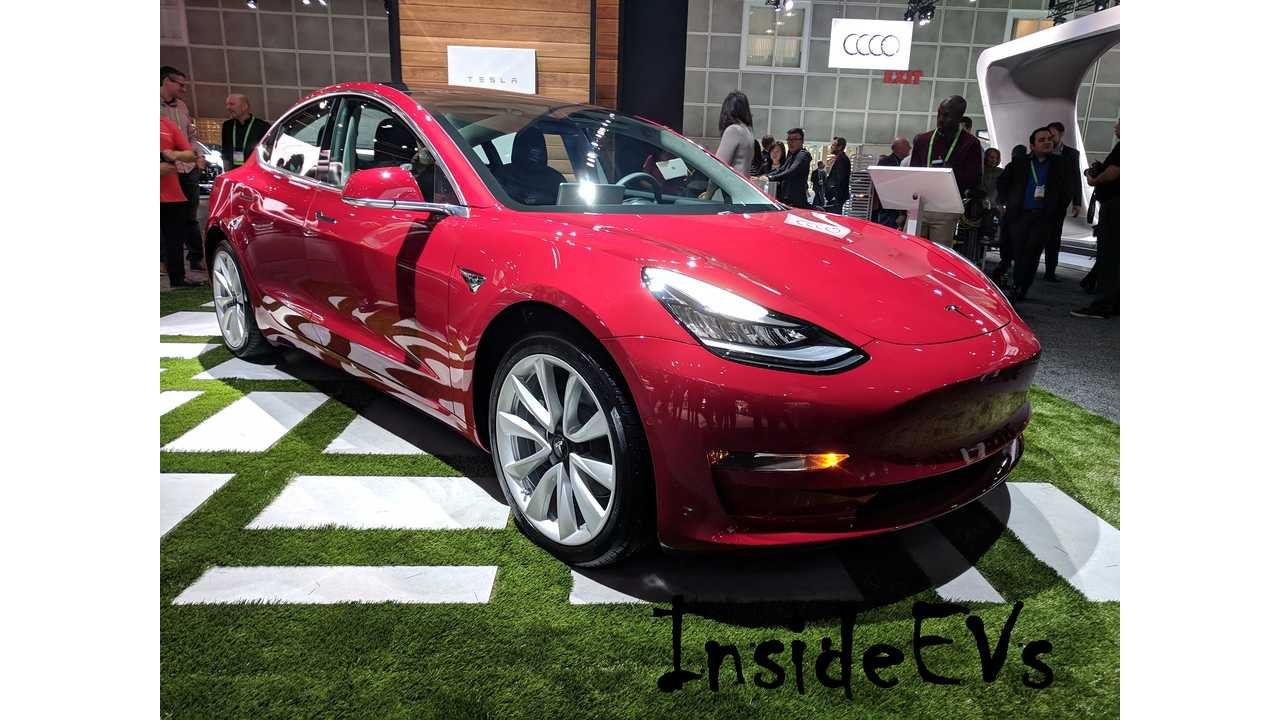 Mother Lode Of Tesla Model 3 Vehicles Spotted, Multiple Locations