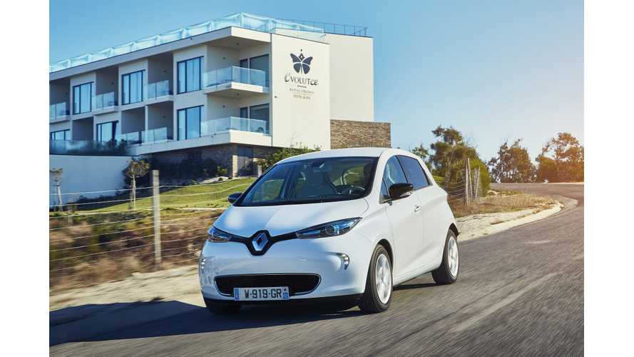 Plug-In Electric Vehicle Sales In France Remains Strong In August