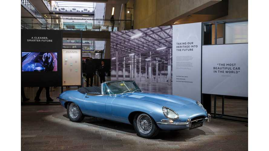 World Debut: Jaguar E-Type Zero Up Close And Personal