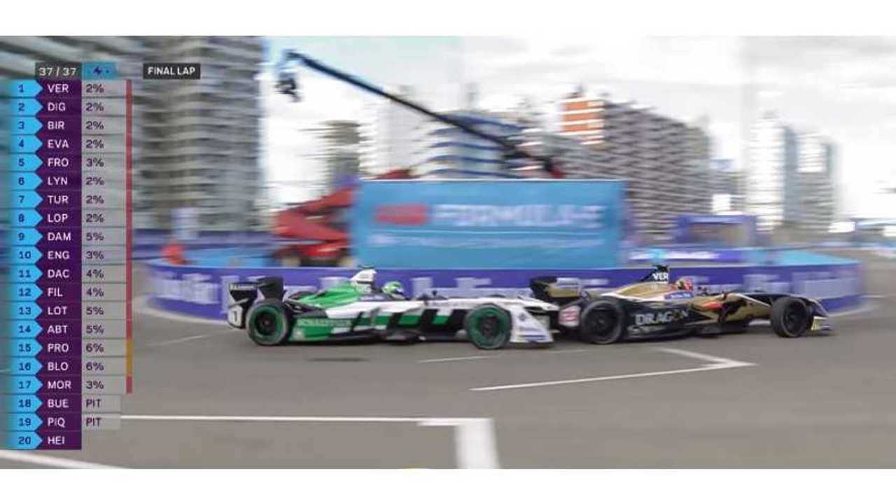 Watch Vergne, di Grassi Duel For Win At Formula E Punta ePrix