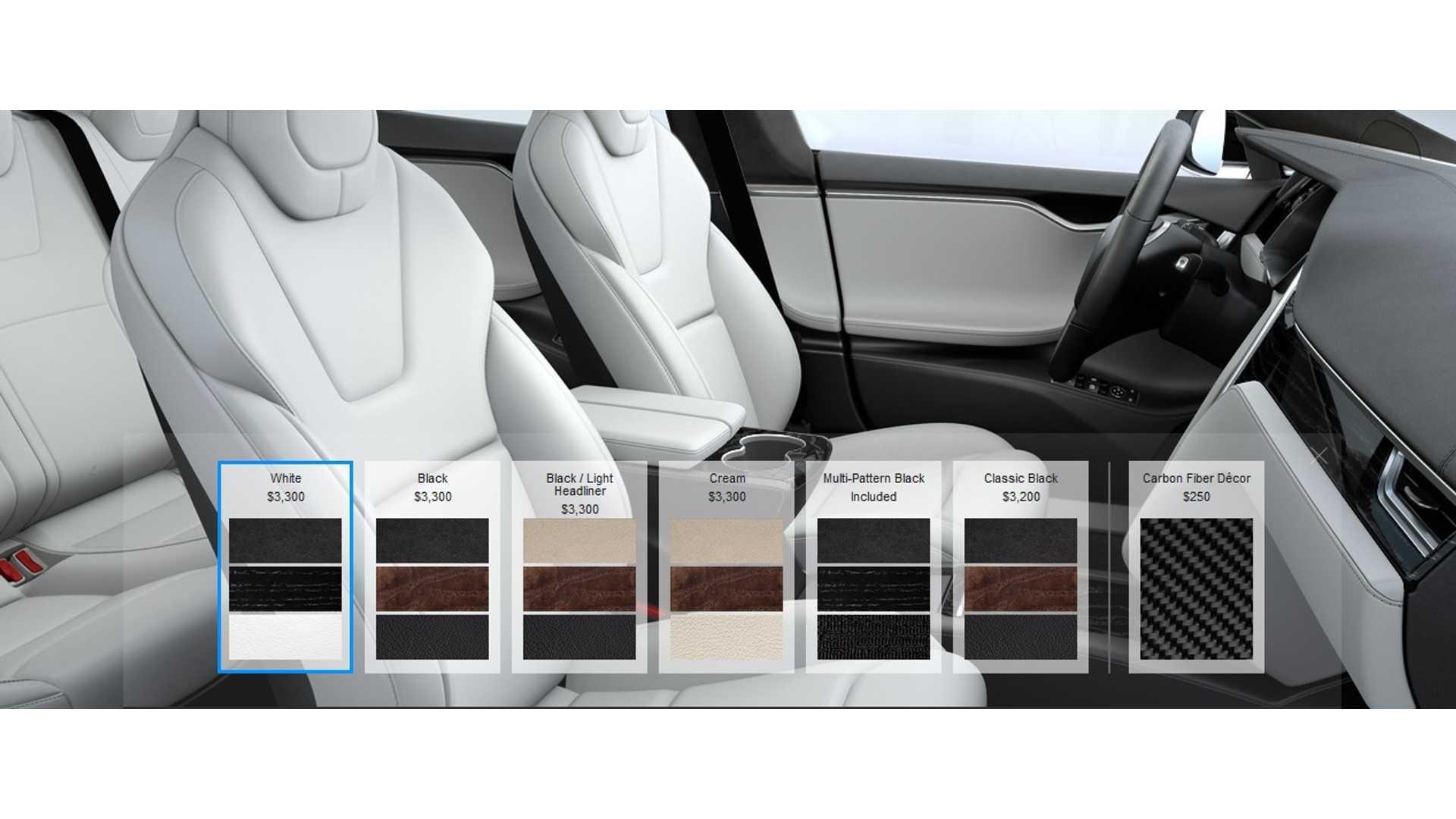 Tesla Eliminates Leather Seating Options On Model S And Model X