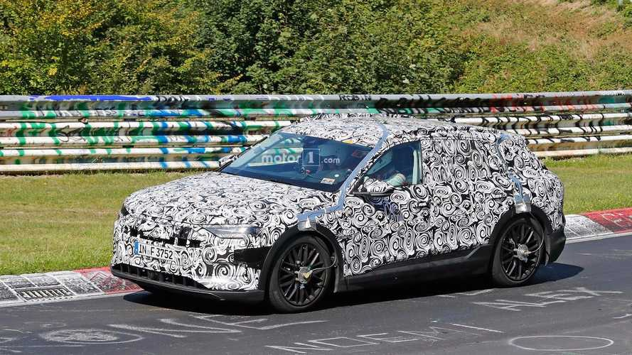 Audi Spied Testing Electric E-Tron Quattro At Nürburgring