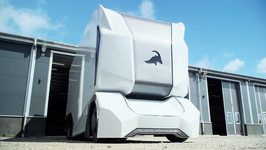 Check This Out! An Autonomous Electric Truck Called T-Pod With Remote Control Capability