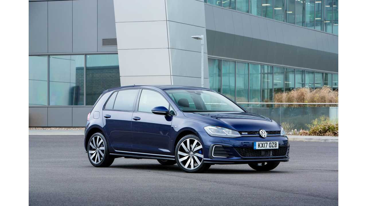 Updated Volkswagen Golf GTE £3,420 Cheaper Than Outgoing Model