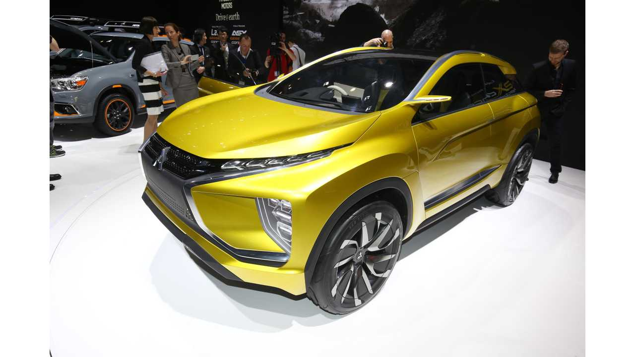 Mitsubishi eX Concept With 45 kWh Battery Shown Off In Geneva (Specs, Gallery, Videos)