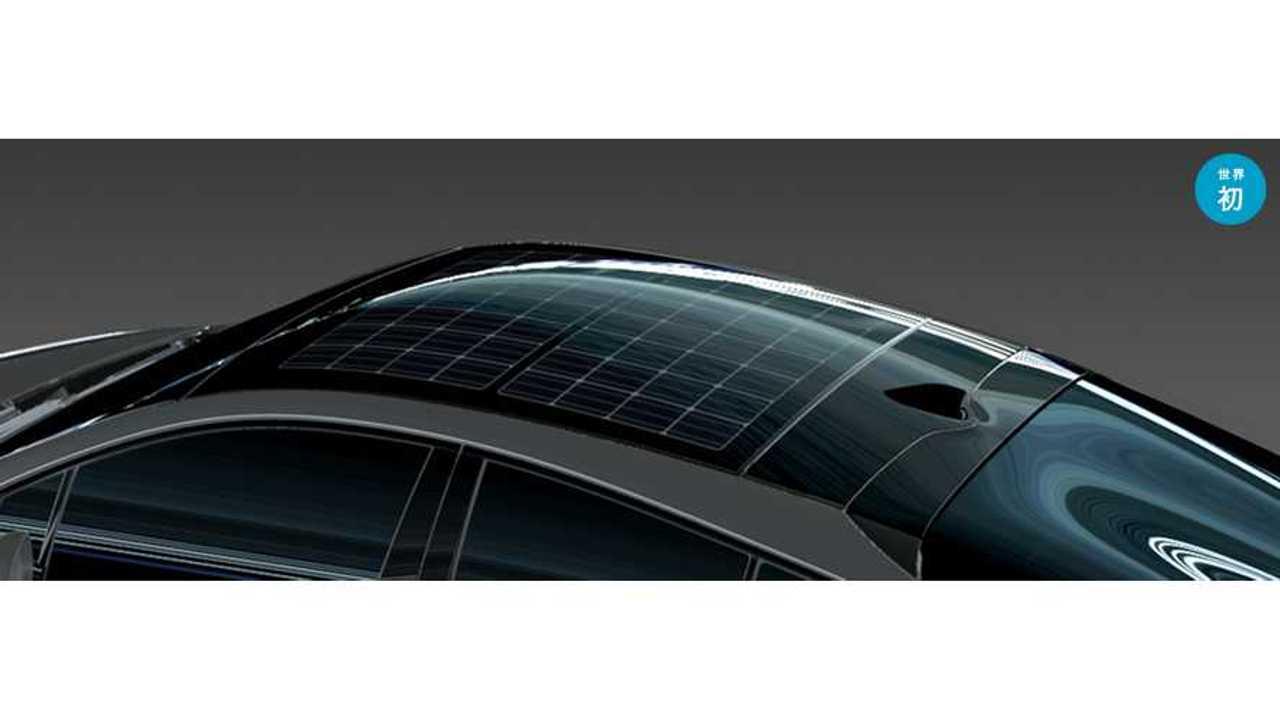 Toyota Prius Prime soalr panels