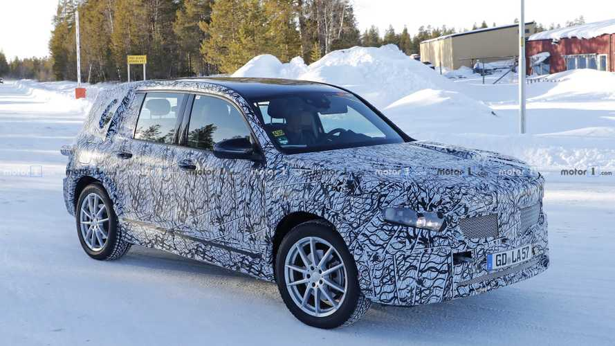 Mercedes GLB spied testing as fully electric EQ B model