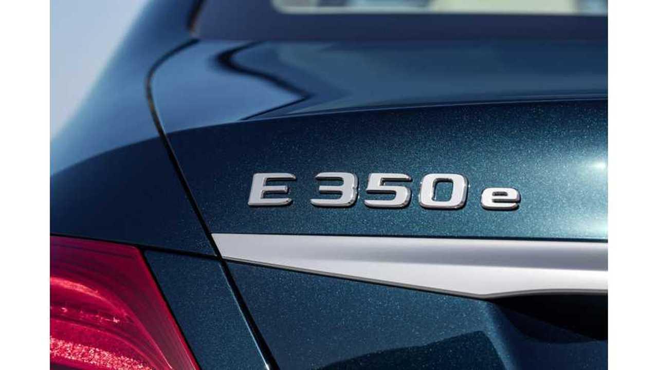Mercedes-Benz Launches E 350 e PHEV - Details Revealed