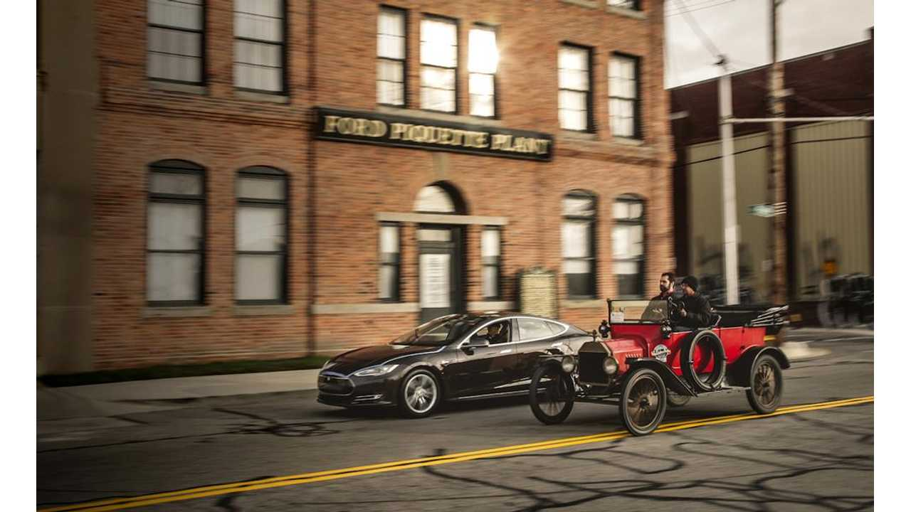 Tesla Sales On Track To Match Ford Model T (w/video)