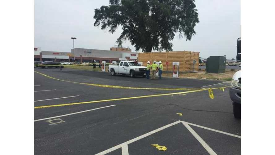 Contractor Fatality At Tesla Supercharger Station Just Ahead Of Grand Opening - Video (Update)