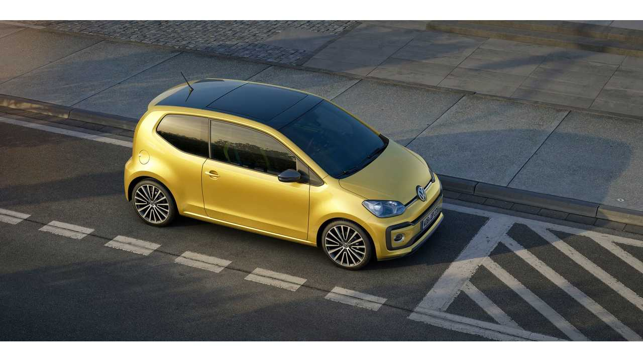 Volkswagen To Unveil New up! (Including e-up!) In Geneva