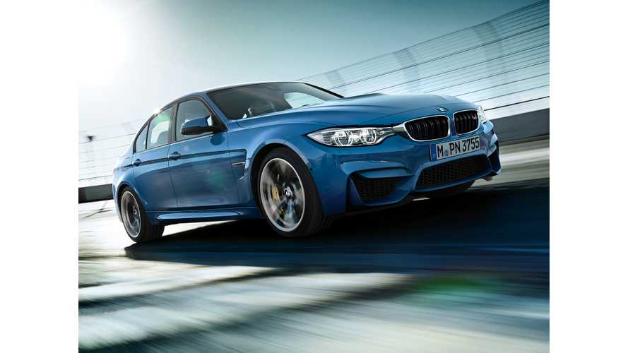 Next-Gen BMW M3 To Be A Plug-In Hybrid?