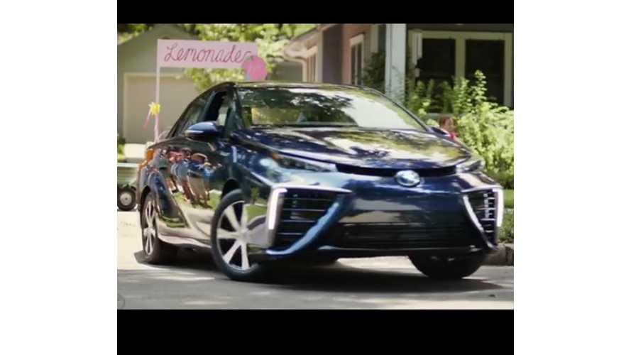 Fueled By Lemonade, Toyota Mirai Now Up To 1,100 Ownership Requests - Video