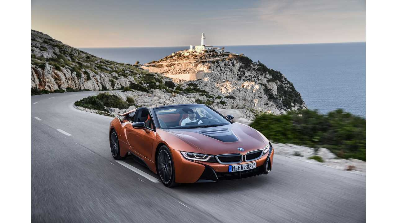 Next-Gen BMW i8 Might Get 4-Cylinder To Replace 3: Power Bump Expected