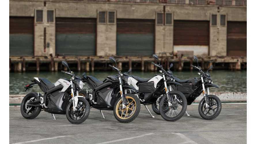 2018 Zero Motorcycles Get Bigger Batteries, Rapid Recharging, Improved Performance