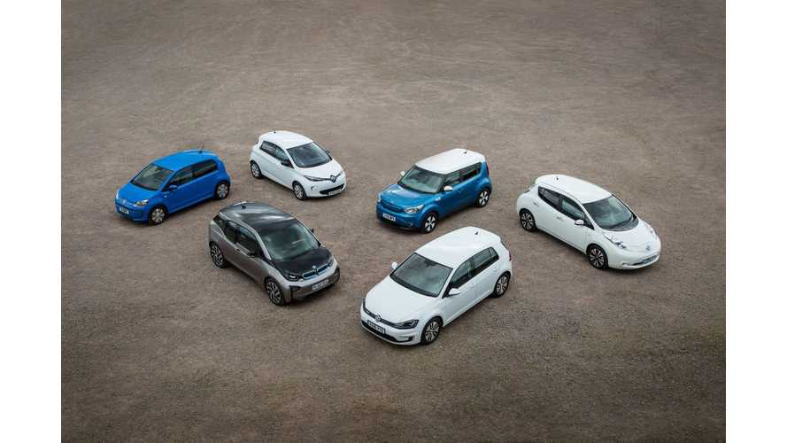 Plug-In Hybrids Drive British Market To 2.0% Share In January