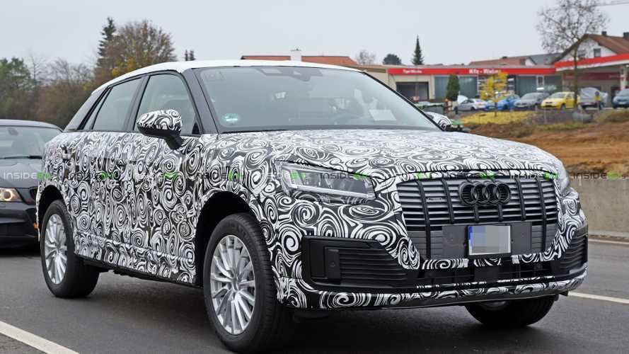 UPDATE: Audi Q2 L E-Tron Spied