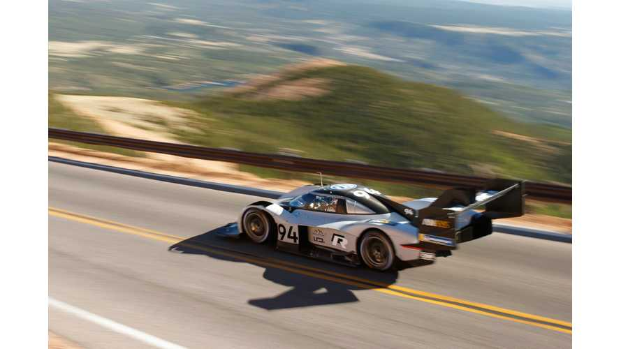 See VW I.D. R Pikes Peak Race Car At Petersen Automotive Museum