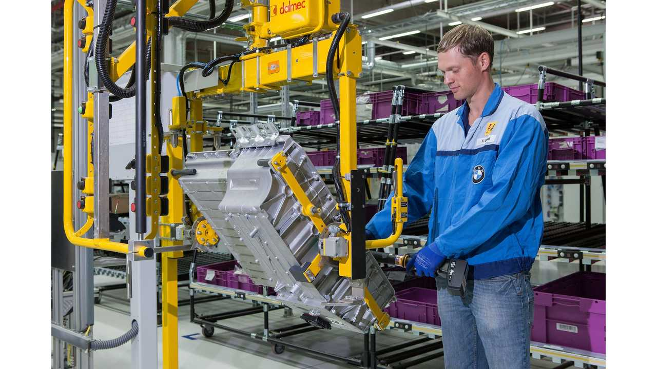 BMW Readies 2 New Lines For Production Of Batteries/Components For PHEVs