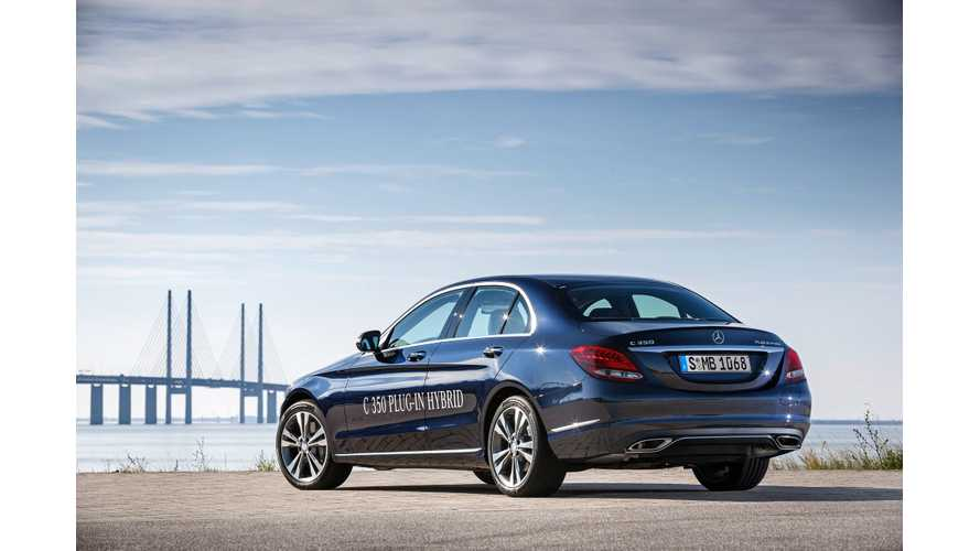 Mercedes-Benz C350 Plug-In Hybrid Revealed At 2015 NAIAS