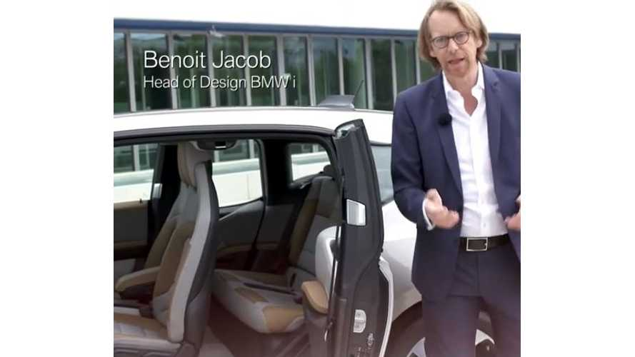 BMW i3 Interior Design - Video