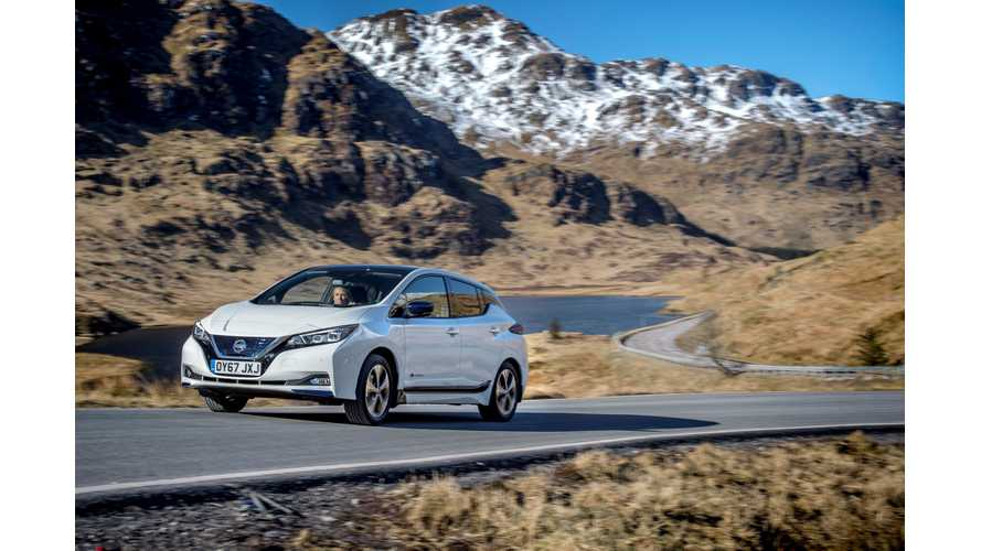 In March, Nissan Sold Whopping 6,503 LEAFs In Europe