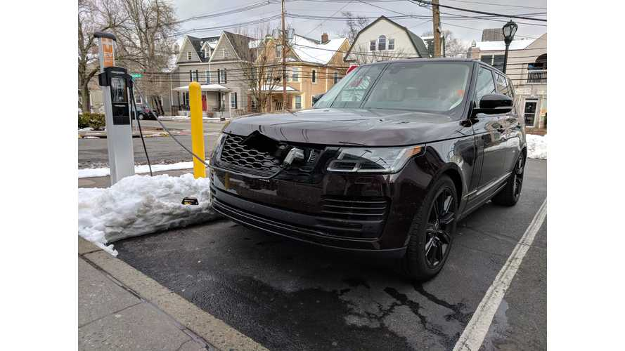 Spotted Testing: 2019 Range Rover PHEV HSE 2.0L P400e